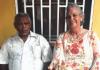 Eddy i su esposa Elma Campos