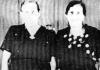 Toni i Clara Evertsz di Nort di Saliña.