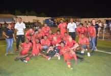 Premiashon torneo S.V. Uruguay