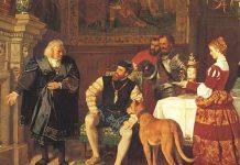 Rei di Spaña Carlos V a sede e teritorio venezolano durante 18 aña na un famia di bankero aleman (germano) Welser.