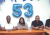 Direktiva nobo di AFBW, d.r.p.d. Luthy Martines, miembro, Sherrel Kwidama, presidente, Mirella Walters, sekretaria, Bradly Wanga, tesorero i Dòlfi Francees, miembro.