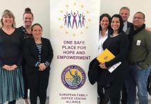 E delegashon di Boneiru ku na Antwerpen a partisipá na e konferensia internashonal One Safe Place for Hope and Empowerment