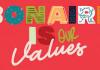 Kampaña nobo di TCB 'Our Values'